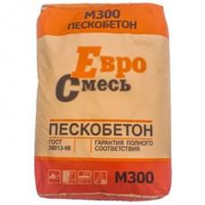 Сухая смесь Пескобетон М-300 ЕвроСмесь 40 кг