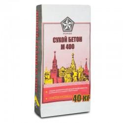 Сухой бетон М 400 Русеан 40 кг